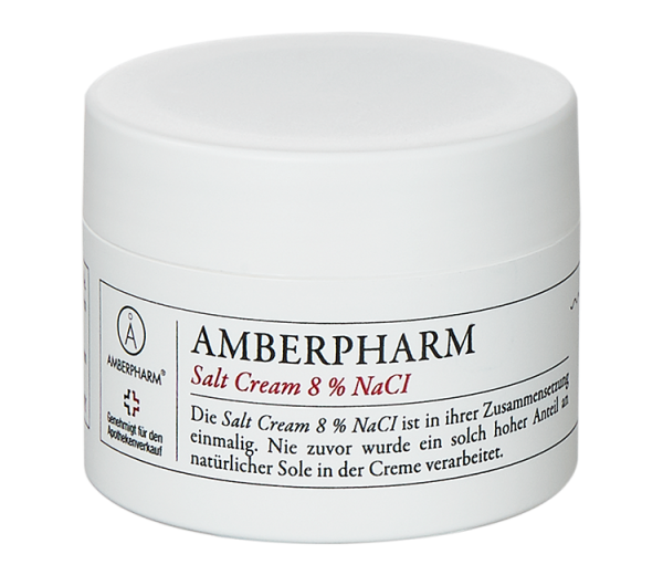 Amberpharm saltcream 8% NaCI